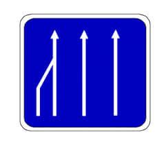 Road narrowing